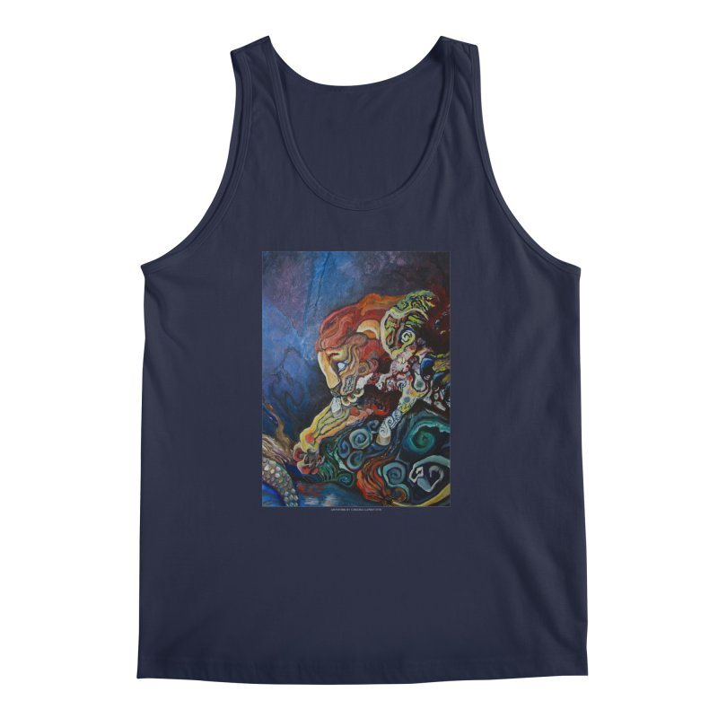 The Lion and The Lamb Men's Tank by Every Drop's An Idea's Artist Shop