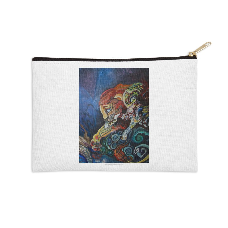 The Lion and The Lamb Accessories Zip Pouch by Every Drop's An Idea's Artist Shop