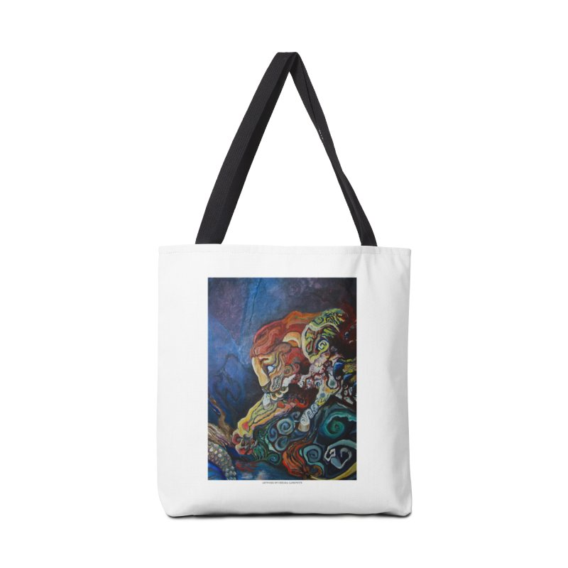 The Lion and The Lamb Accessories Bag by Every Drop's An Idea's Artist Shop