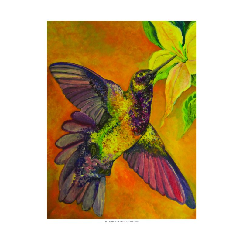 The Hummingbird and Flower by Every Drop's An Idea's Artist Shop