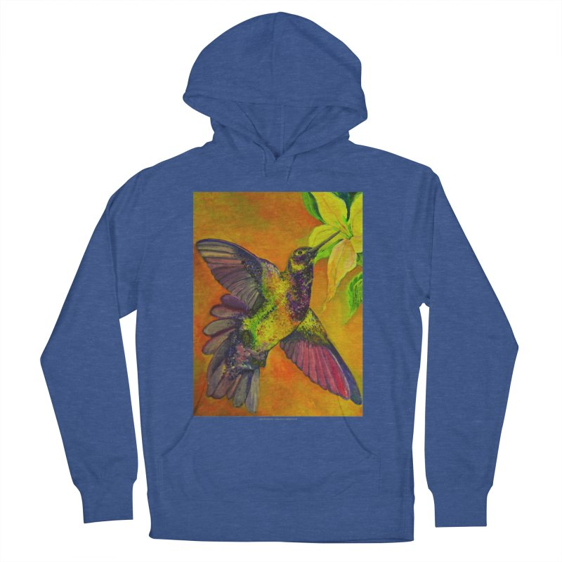 The Hummingbird and Flower Women's Pullover Hoody by Every Drop's An Idea's Artist Shop
