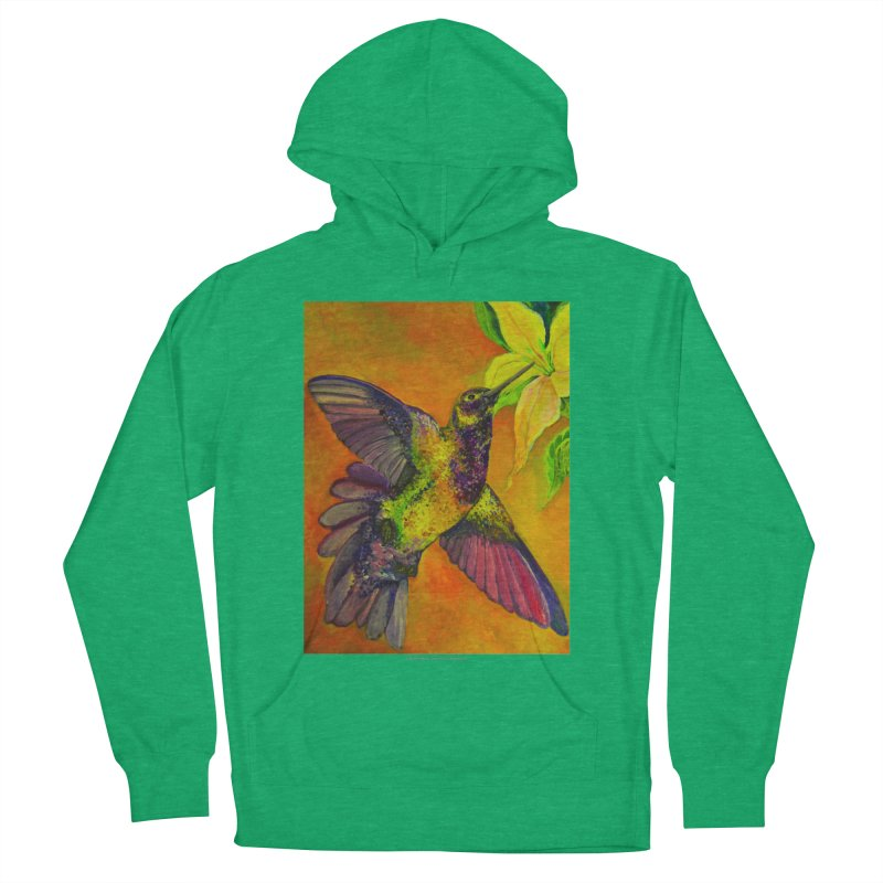 The Hummingbird and Flower Men's Pullover Hoody by Every Drop's An Idea's Artist Shop