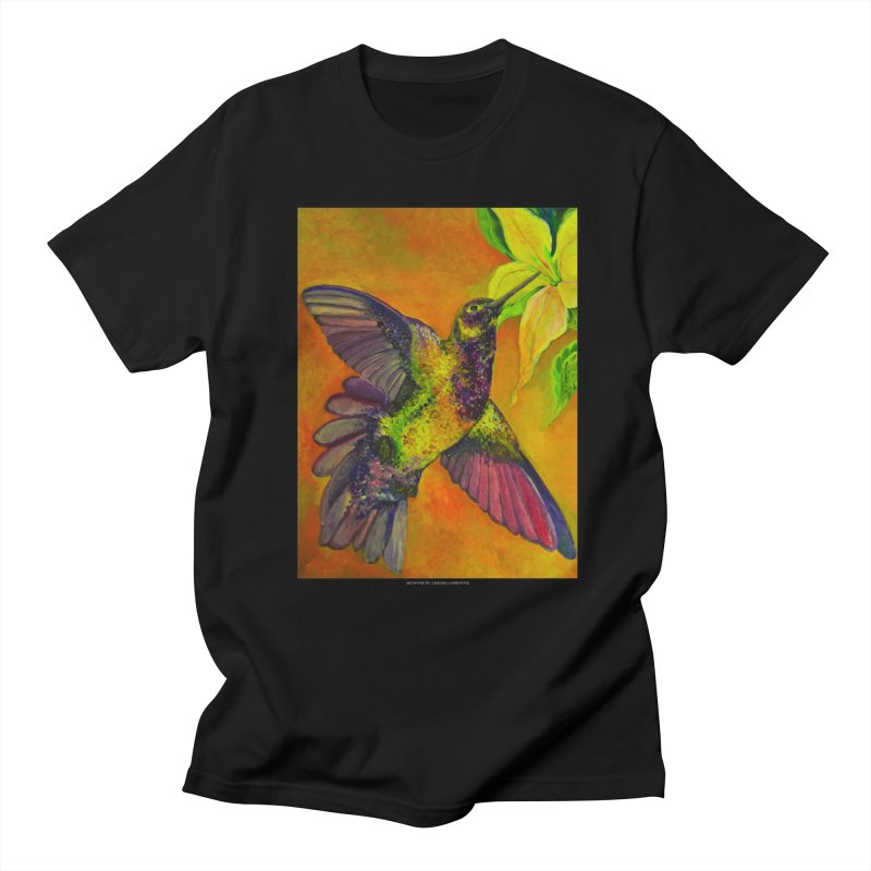 The Hummingbird and Flower Men's T-Shirt by Every Drop's An Idea's Artist Shop