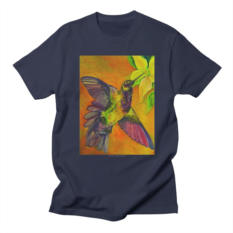 The Hummingbird and Flower Women's Unisex T-Shirt by Every Drop's An Idea's Artist Shop