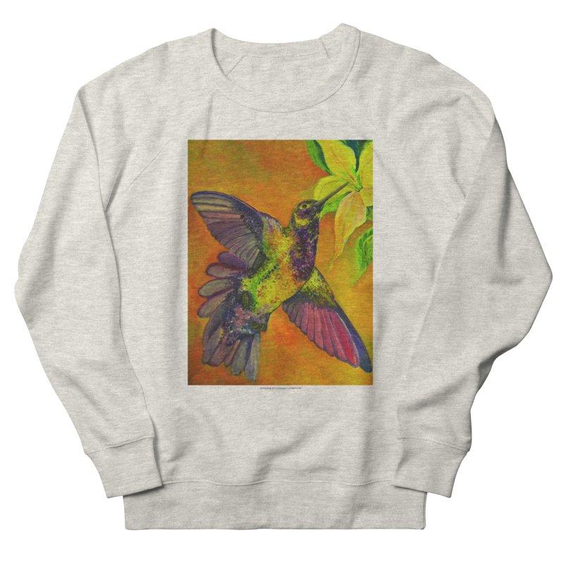 The Hummingbird and Flower Men's Sweatshirt by Every Drop's An Idea's Artist Shop