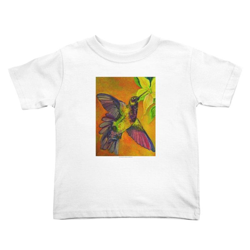 The Hummingbird and Flower Kids Toddler T-Shirt by Every Drop's An Idea's Artist Shop