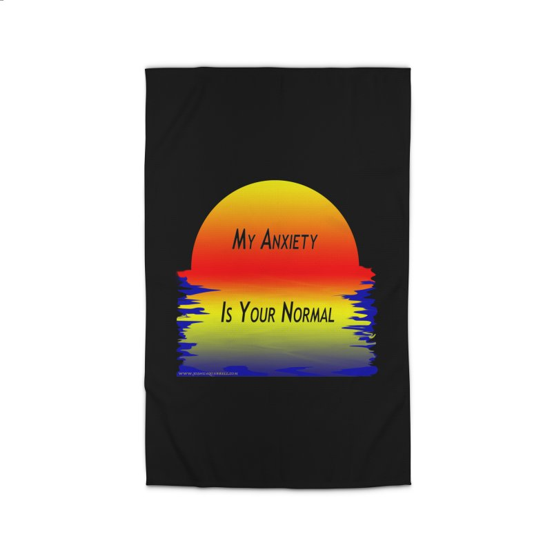 My Anxiety Is Your Normal Home Rug by Every Drop's An Idea's Artist Shop