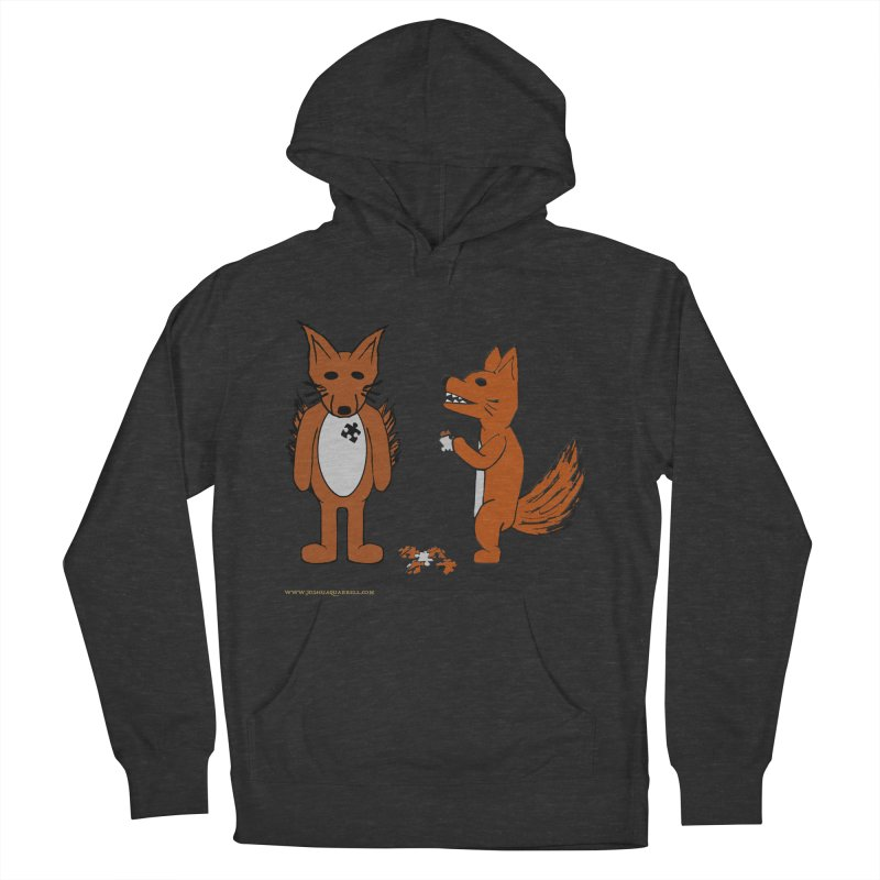 Fitting In Men's French Terry Pullover Hoody by Every Drop's An Idea's Artist Shop