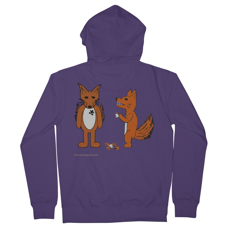 Fitting In Women's French Terry Zip-Up Hoody by Every Drop's An Idea's Artist Shop