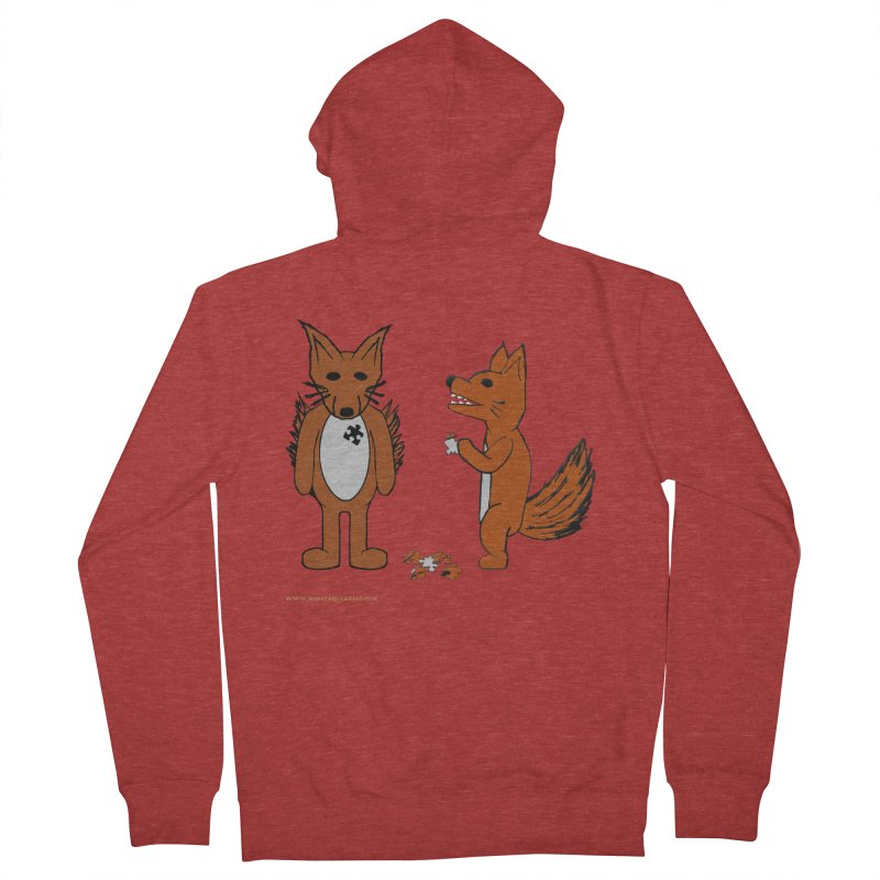 Fitting In Men's French Terry Zip-Up Hoody by Every Drop's An Idea's Artist Shop