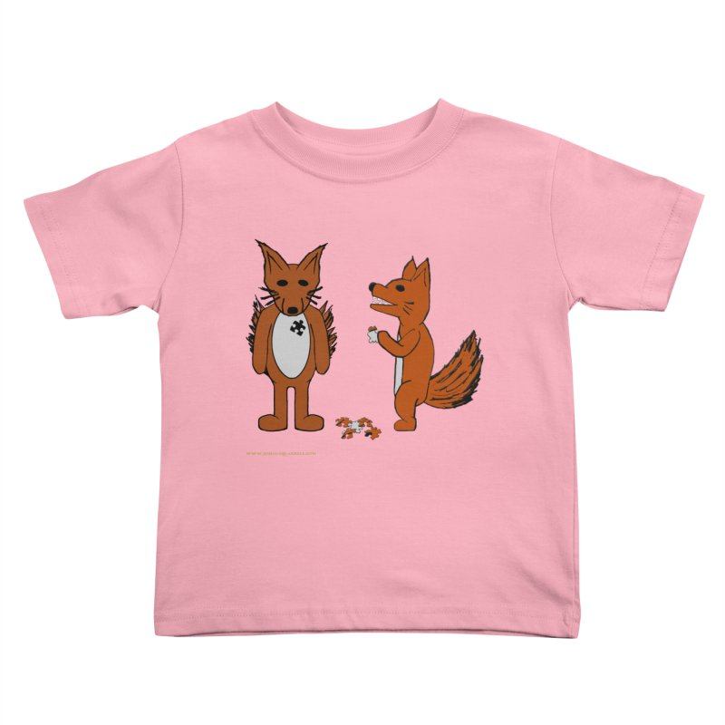 Fitting In Kids Toddler T-Shirt by Every Drop's An Idea's Artist Shop