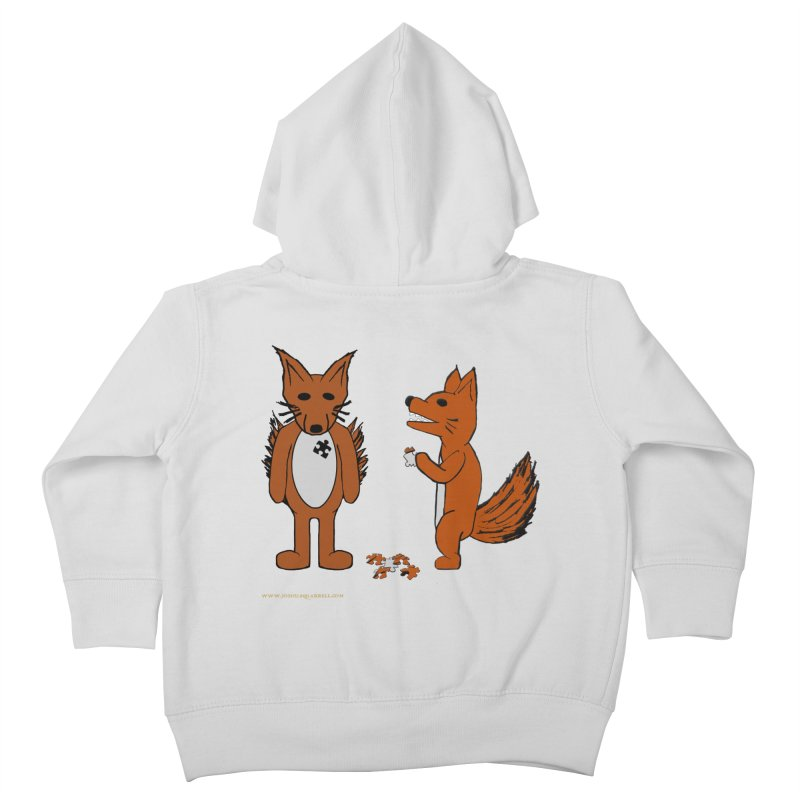 Fitting In Kids Toddler Zip-Up Hoody by Every Drop's An Idea's Artist Shop