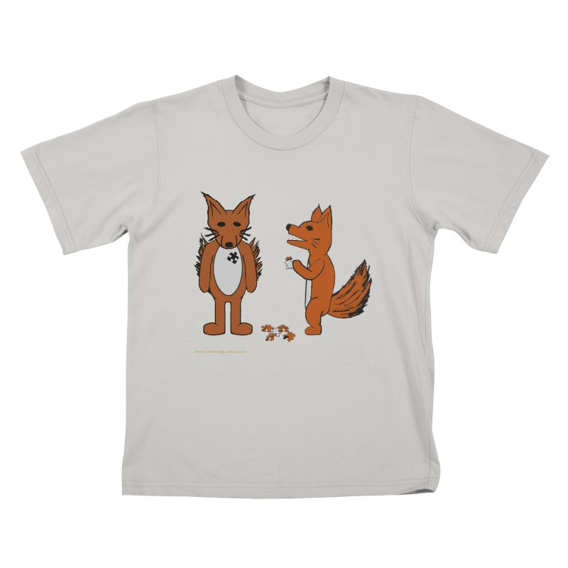 Fitting In Kids T-Shirt by Every Drop's An Idea's Artist Shop