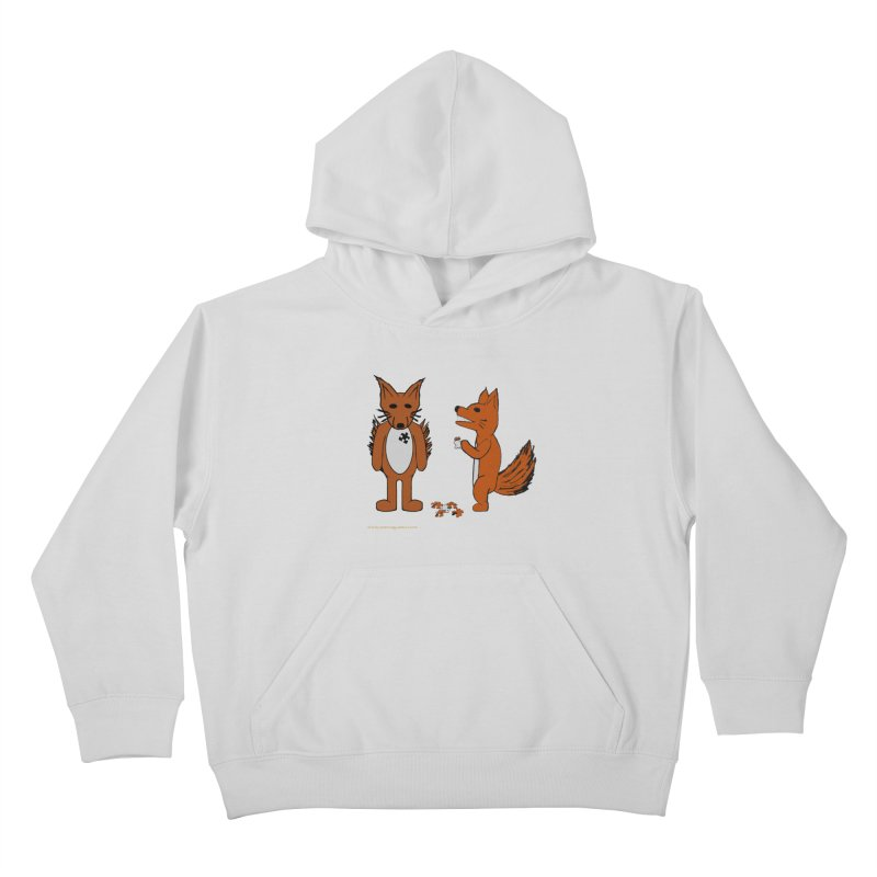 Fitting In Kids Pullover Hoody by Every Drop's An Idea's Artist Shop