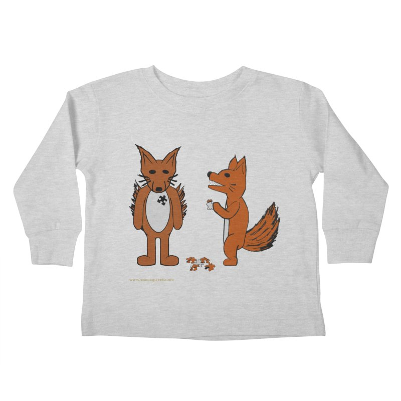 Fitting In Kids Toddler Longsleeve T-Shirt by Every Drop's An Idea's Artist Shop