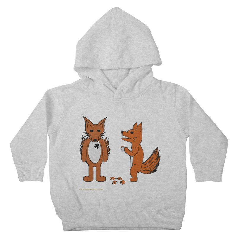 Fitting In Kids Toddler Pullover Hoody by Every Drop's An Idea's Artist Shop