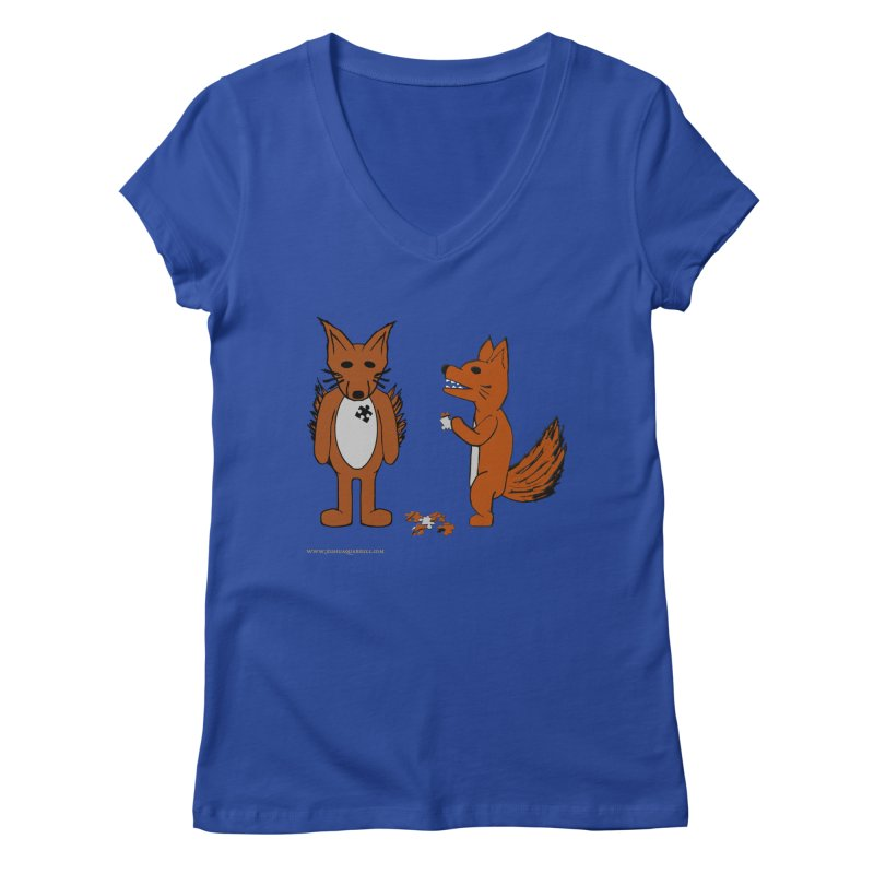 Fitting In Women's V-Neck by Every Drop's An Idea's Artist Shop