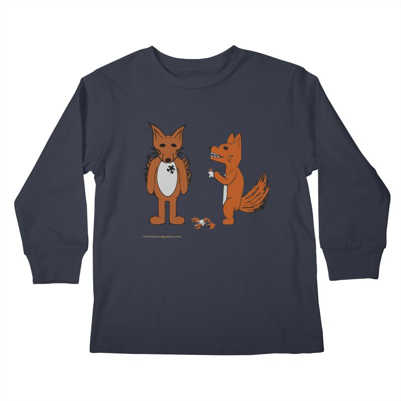Fitting In Kids Longsleeve T-Shirt by Every Drop's An Idea's Artist Shop