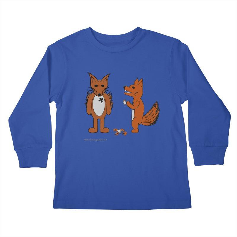 Fitting In Kids Longsleeve T-Shirt by Every Drop's An Idea's Artist Shop