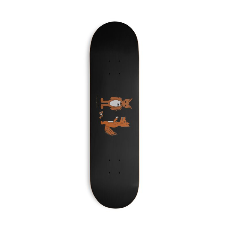 Fitting In Accessories Deck Only Skateboard by Every Drop's An Idea's Artist Shop