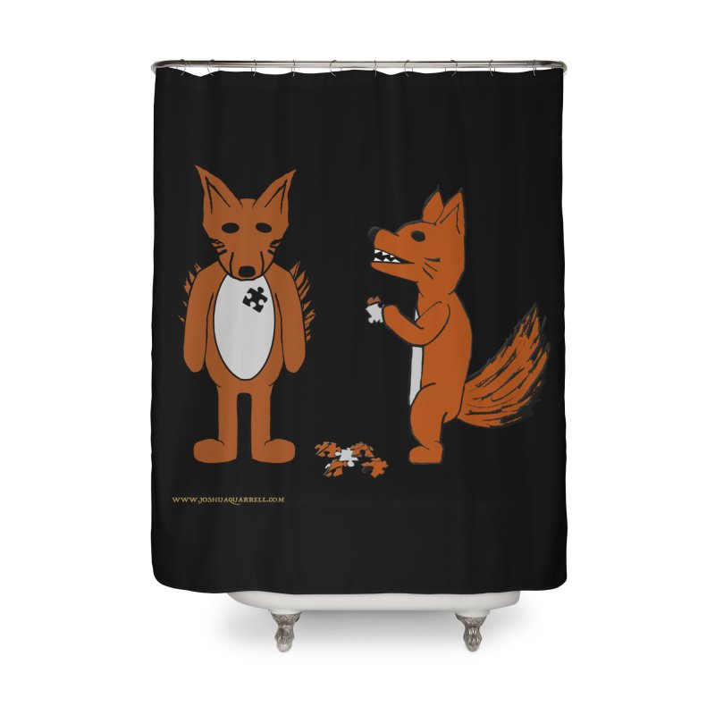 Fitting In Home Shower Curtain by Every Drop's An Idea's Artist Shop