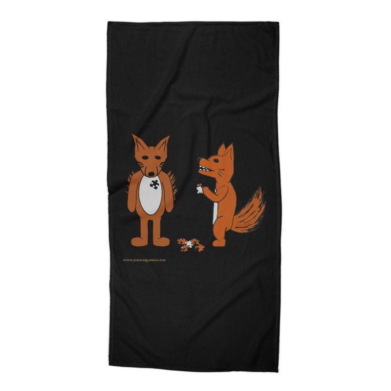 Fitting In Accessories Beach Towel by Every Drop's An Idea's Artist Shop