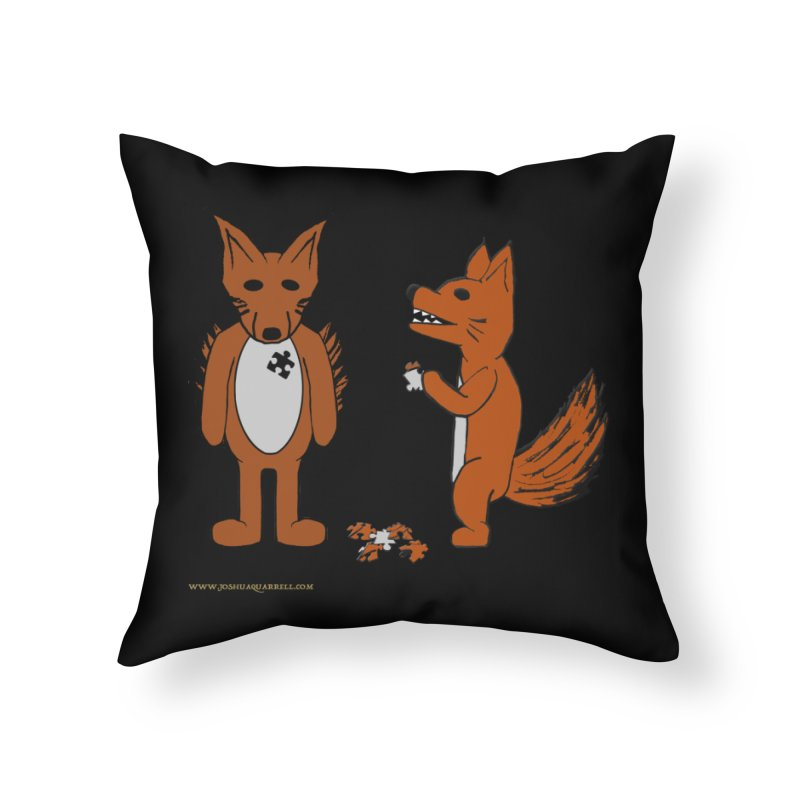 Fitting In Home Throw Pillow by Every Drop's An Idea's Artist Shop