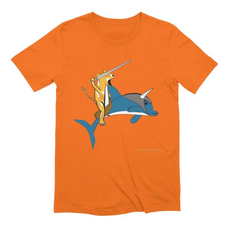Ride Into The Sun Men's Extra Soft T-Shirt by Every Drop's An Idea's Artist Shop