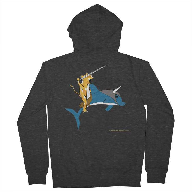 Ride Into The Sun Men's French Terry Zip-Up Hoody by Every Drop's An Idea's Artist Shop