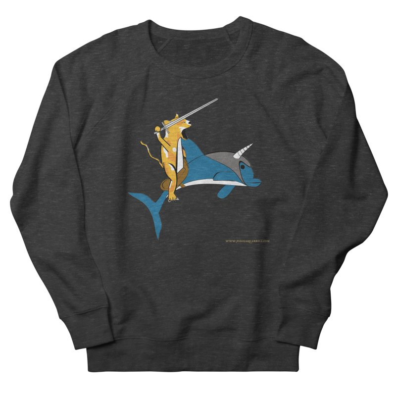 Ride Into The Sun Men's French Terry Sweatshirt by Every Drop's An Idea's Artist Shop
