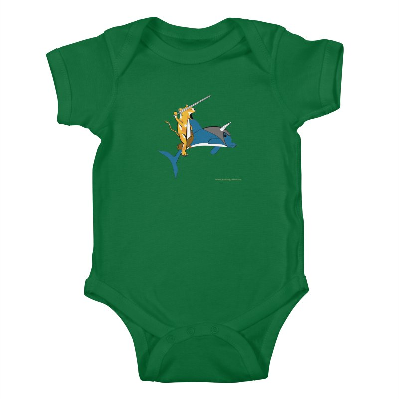 Ride Into The Sun Kids Baby Bodysuit by Every Drop's An Idea's Artist Shop