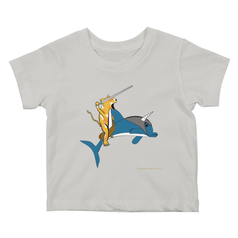 Ride Into The Sun Kids Baby T-Shirt by Every Drop's An Idea's Artist Shop