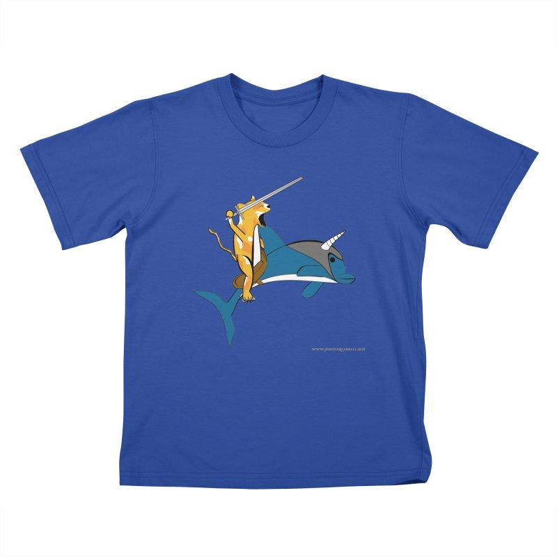 Ride Into The Sun Kids T-Shirt by Every Drop's An Idea's Artist Shop