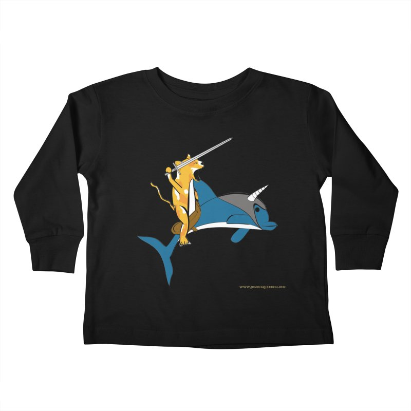 Ride Into The Sun Kids Toddler Longsleeve T-Shirt by Every Drop's An Idea's Artist Shop