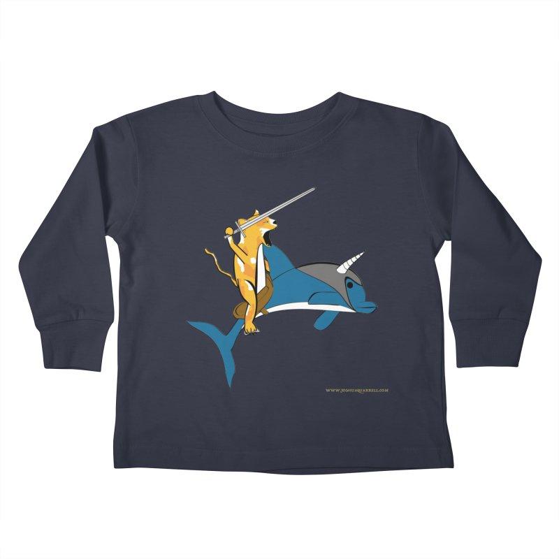 Ride Into The Sun Kids Toddler Longsleeve T-Shirt by Every Drop's An Idea's Artist Shop