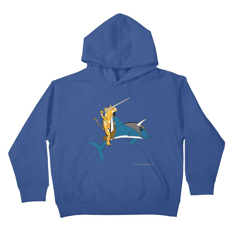 Ride Into The Sun Kids Pullover Hoody by Every Drop's An Idea's Artist Shop