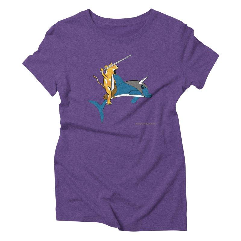 Ride Into The Sun Women's Triblend T-Shirt by Every Drop's An Idea's Artist Shop