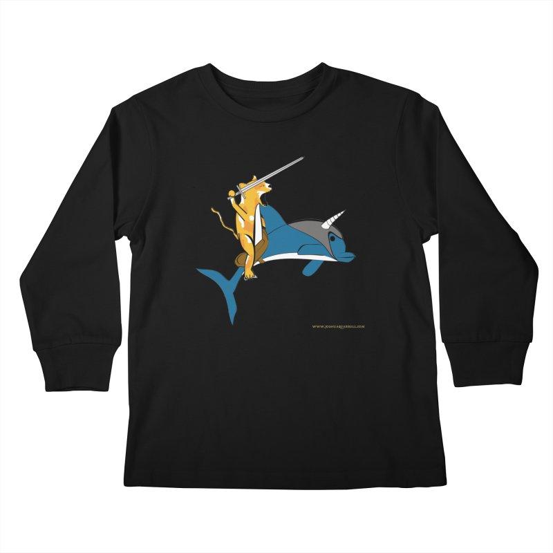 Ride Into The Sun Kids Longsleeve T-Shirt by Every Drop's An Idea's Artist Shop