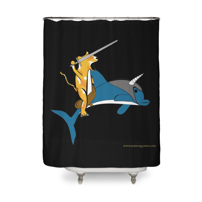 Ride Into The Sun Home Shower Curtain by Every Drop's An Idea's Artist Shop