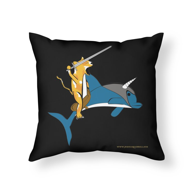 Ride Into The Sun Home Throw Pillow by Every Drop's An Idea's Artist Shop