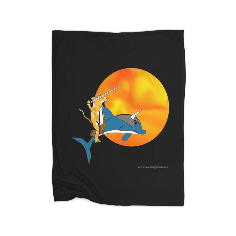 Ride Into The Sun (Sun Version) Home Blanket by Every Drop's An Idea's Artist Shop