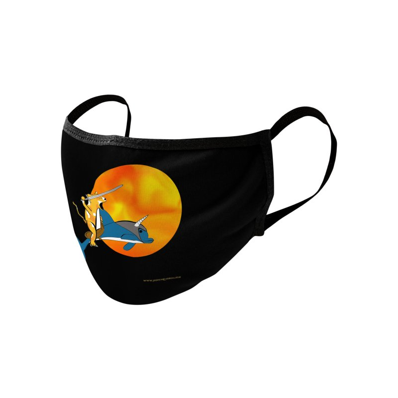 Ride Into The Sun (Sun Version) Accessories Face Mask by Every Drop's An Idea's Artist Shop