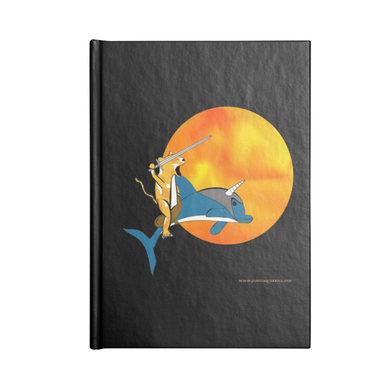 Ride Into The Sun (Sun Version) Accessories Lined Journal Notebook by Every Drop's An Idea's Artist Shop