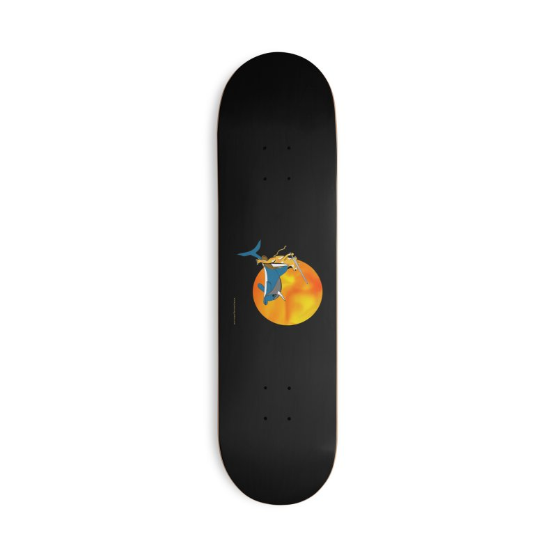 Ride Into The Sun (Sun Version) Accessories Deck Only Skateboard by Every Drop's An Idea's Artist Shop
