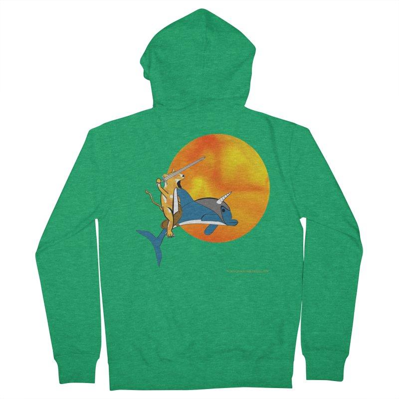 Ride Into The Sun (Sun Version) Men's Zip-Up Hoody by Every Drop's An Idea's Artist Shop
