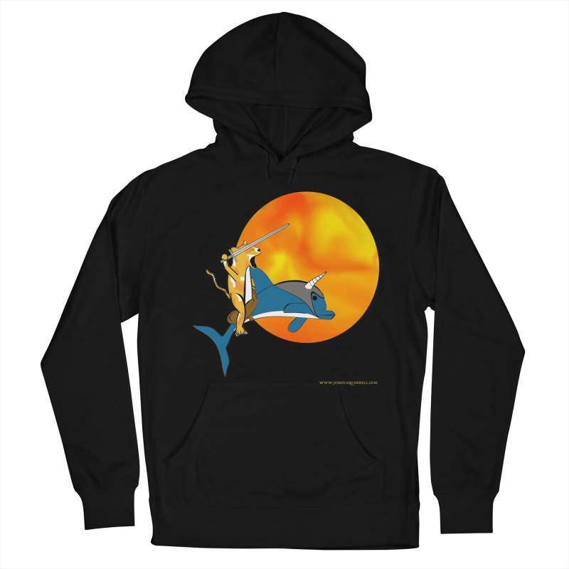 Ride Into The Sun (Sun Version) Women's French Terry Pullover Hoody by Every Drop's An Idea's Artist Shop