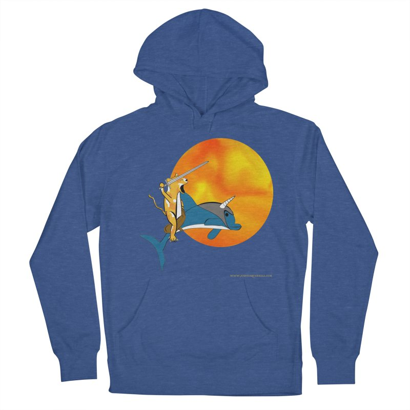 Ride Into The Sun (Sun Version) Men's French Terry Pullover Hoody by Every Drop's An Idea's Artist Shop