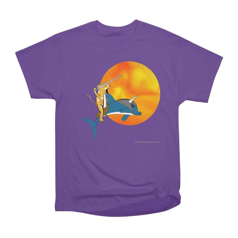 Ride Into The Sun (Sun Version) Women's Heavyweight Unisex T-Shirt by Every Drop's An Idea's Artist Shop