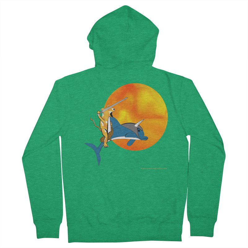 Ride Into The Sun (Sun Version) Women's Zip-Up Hoody by Every Drop's An Idea's Artist Shop
