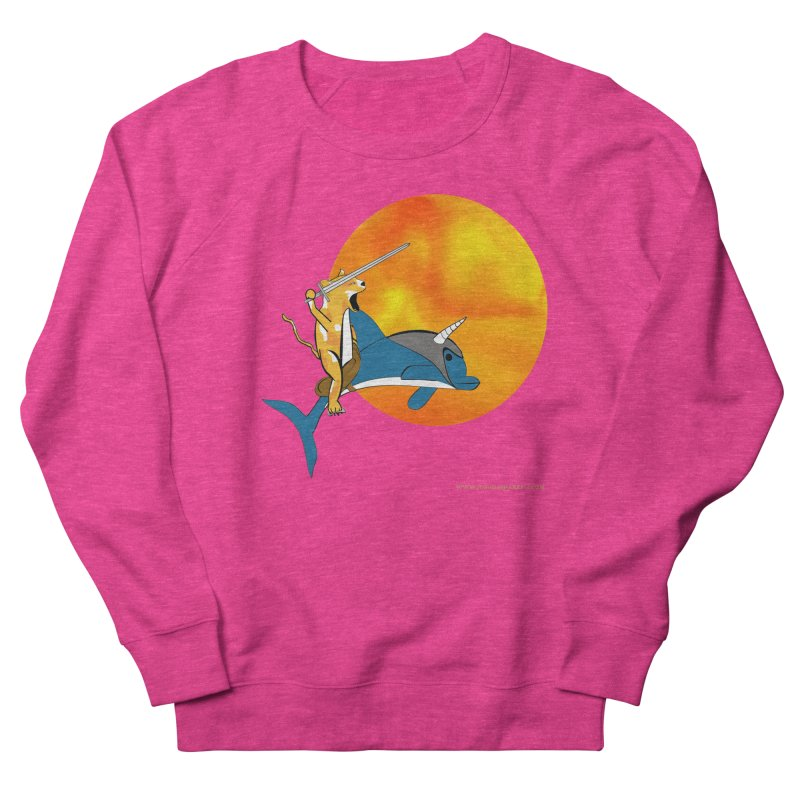 Ride Into The Sun (Sun Version) Women's French Terry Sweatshirt by Every Drop's An Idea's Artist Shop